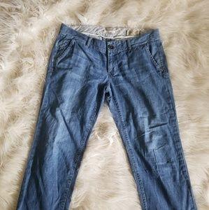 Limited edition gap brand trouser fit capri